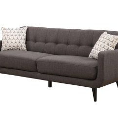 All Modern Chairs Black Bistro Crystal Mid Century Sofa And Reviews Allmodern