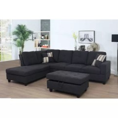 Dark Grey Sectional Sofa With Chaise Marshmallow Flip Open Sectionals You Ll Love Wayfair Quickview Blue Jeans Brown Gray