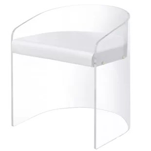 lucite acrylic chairs fabric patio and wayfair lolley barrel chair