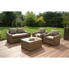 Maze Rattan Natural Milan Corner Sofa Set Green Cushions Queen Sleeper Sheets Wayfair Co Uk