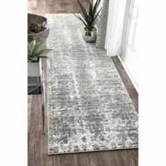 Kitchen Runner Rugs Islands Hallway Runners You Ll Love Wayfair Ca Bloom Grey Area Rug