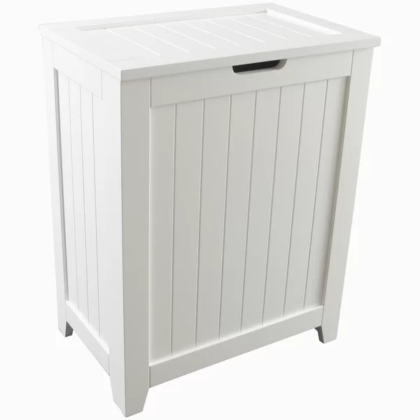 Laurel Foundry Modern Farmhouse Contemporary Country Cabinet Laundry Hamper  Reviews  Wayfair