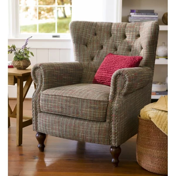 Plow  Hearth Madison Wingback Chair  Reviews  Wayfair