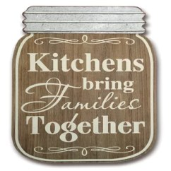 Kitchen Plaques Replacing Sink Sprayer Hose Wayfair Ca Mason Jar Plaque Wall Decor Set Of 2