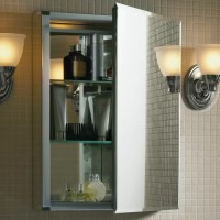 "Kohler 20"" x 26"" Aluminum Medicine Cabinet with Mirrored"