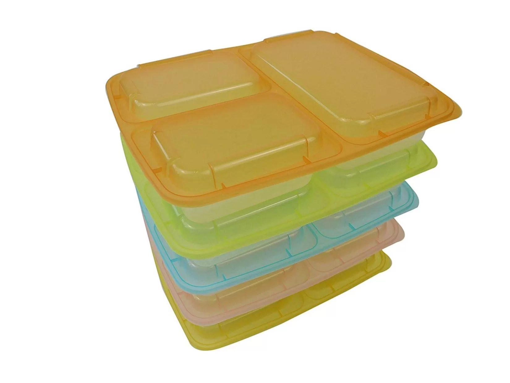 Table To Go Table To Go 150 Pack Bento Lunch Boxes With