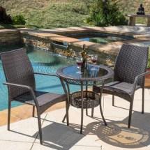 Home Loft Concepts Echo Lake 3 Piece Dining Set &