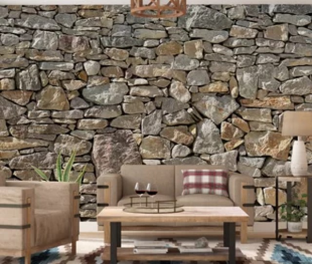 Chicopee  Piece Stone Wall Mural