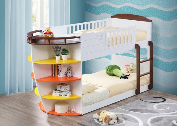 Twin Bunk Bed Storage