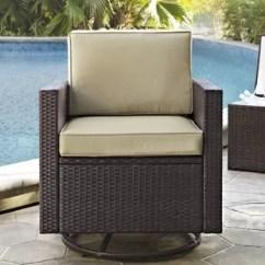 Oversized Patio Chair Cushions Lowes Rail Tile Chairs Wayfair Belton Swivel With Cushion