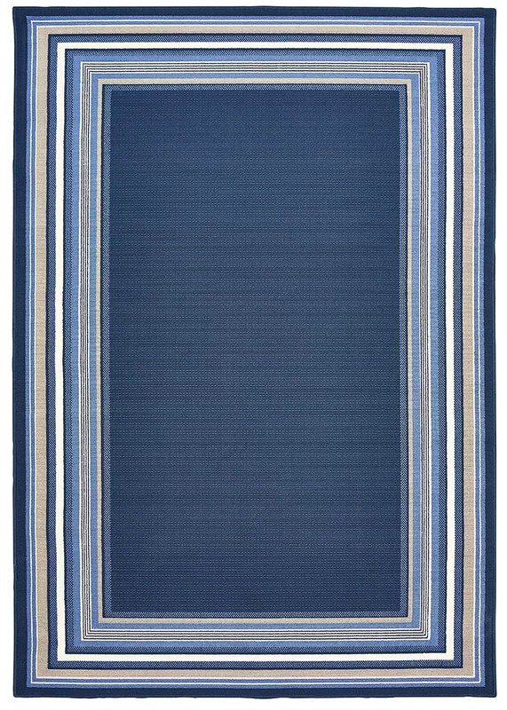 Hadiya Navy Blue IndoorOutdoor Area Rug  Reviews  Birch
