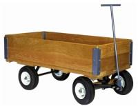 Hamilton Caster 1500 lb. Capacity Wood Convertible Wagon