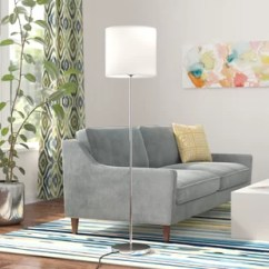Living Room Standing Lamp Small Sectional Floor Lamps You Ll Love Wayfair Quickview