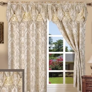 living room window valances chairs treatments you ll love wayfair quickview