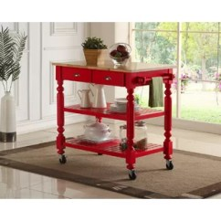 Red Kitchen Islands How To Build An Outdoor Counter Carts You Ll Love Wayfair Ca Save