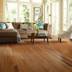Oak Wood Floor Living Room Modern Tv Shelf For Welles Hardwood 2 1 4 Solid Flooring In Semi Glossy Gunstock