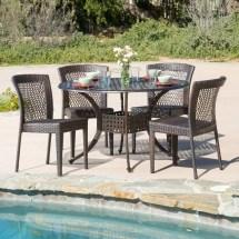 Home Loft Concepts Emerson 5 Piece Dining Set &
