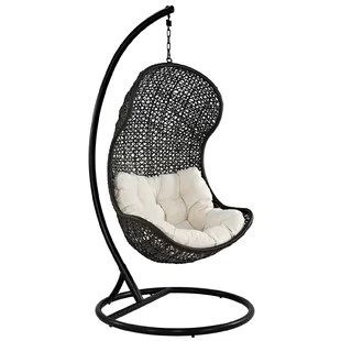swing chair with stand malaysia wedding cover hire chesterfield ceiling wayfair gamble