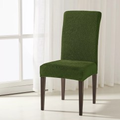 Stretch Dining Chair Covers Conference Table And Chairs Set Winston Porter The Raised Dots Box Cushion Slipcover Wayfair