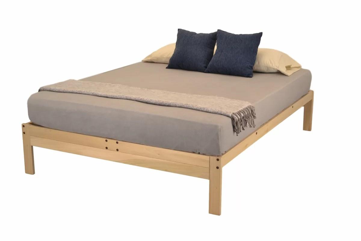 KD Frames Nomad Plus Platform Bed & Reviews
