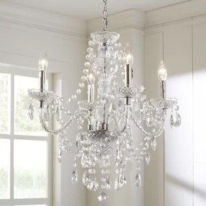 Ice Palace 4 Light Crystal Chandelier