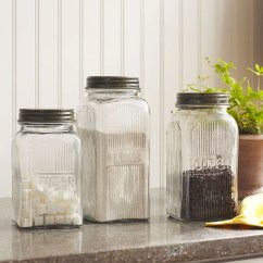 Canisters Kitchen Island Table Birch Lane Heritage Pauline 3 Piece Canister Set Reviews