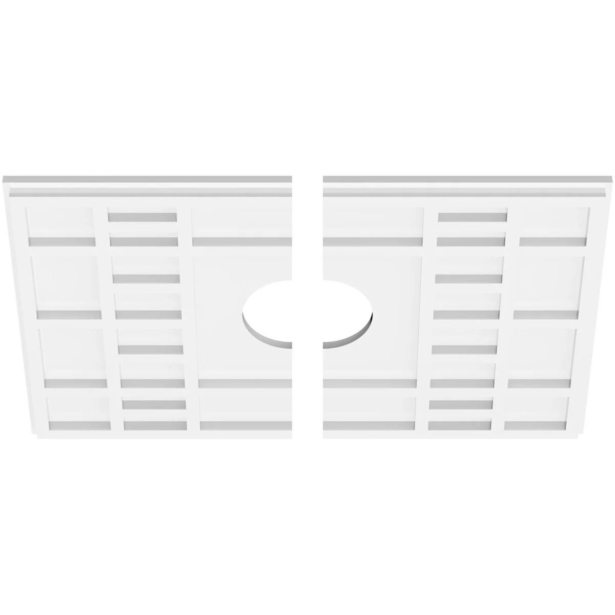 Ekena Millwork Beaux Architectural Grade Pvc Ceiling