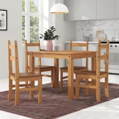 Wooden Kitchen Table Slate Floor Dining Sets Chairs You Ll Love Wayfair Co Uk Whipton Budget And 4
