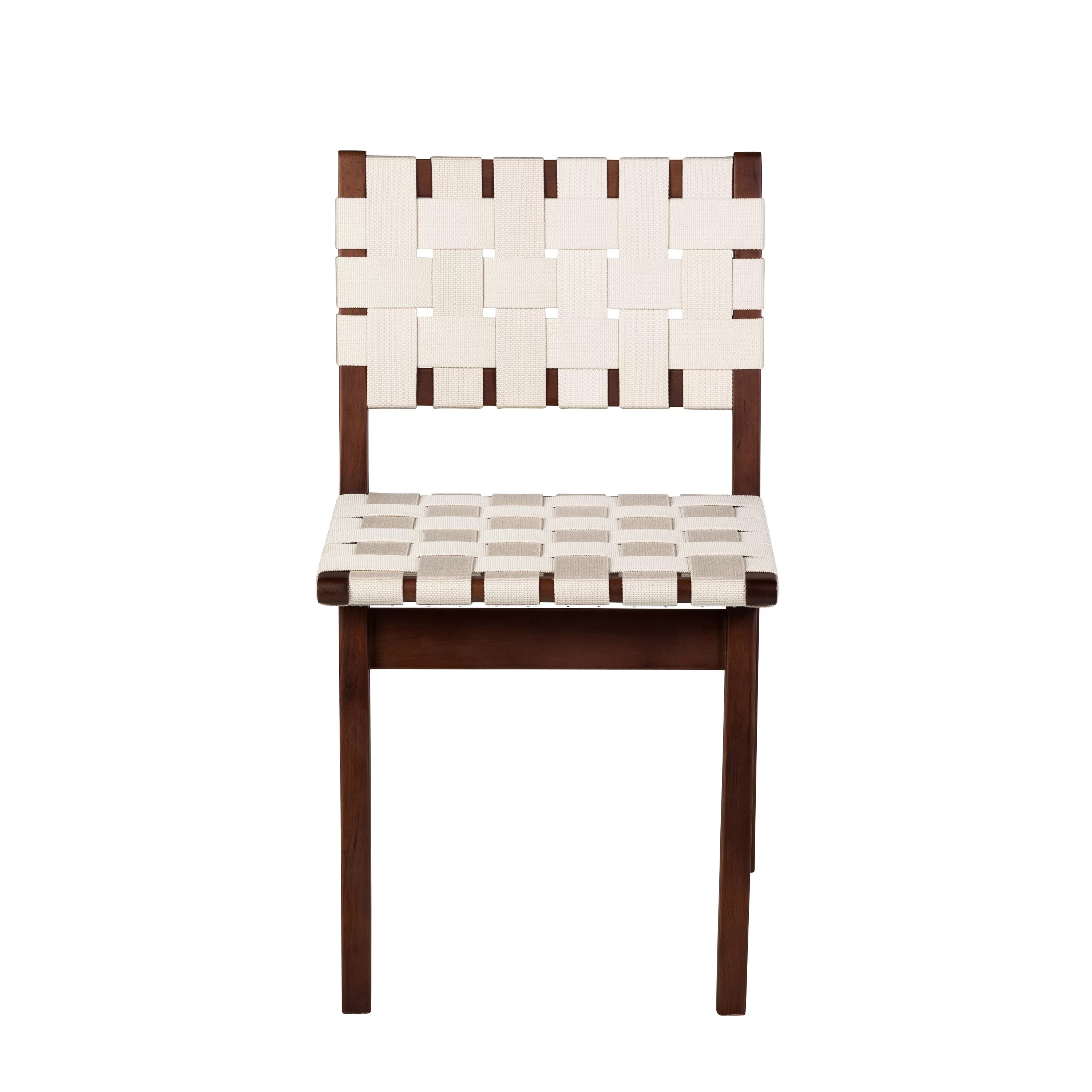 Woven Dining Chair Woven Upholstered Dining Chair
