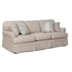 Two Cushion Sofa Slipcover 4 Seater Dimensions Wayfair Ca