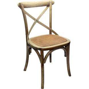 dining chairs with caning rocking folding chair sams cane wayfair co uk santa cruz