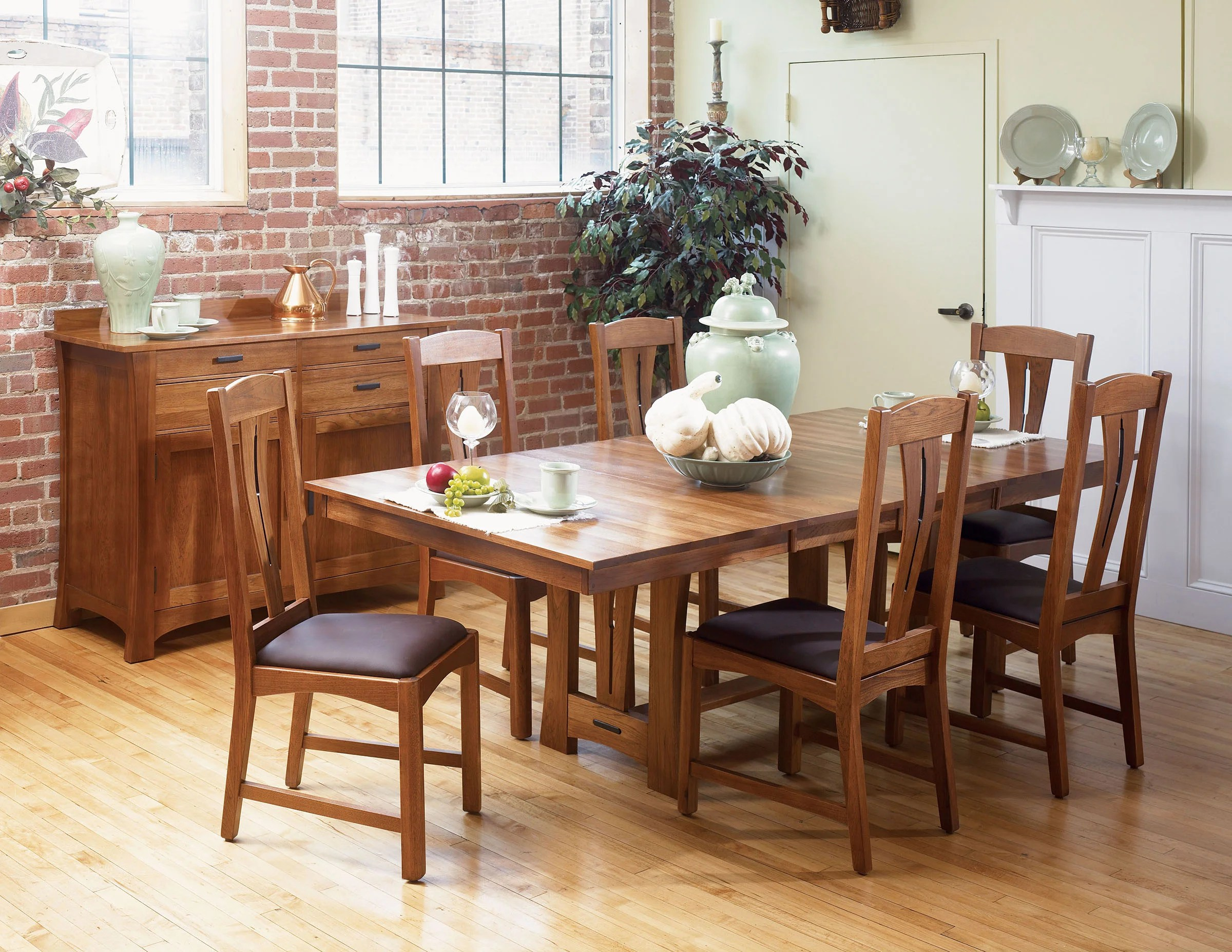 solid oak dining table and chairs parsons chair covers uk loon peak lewistown wood wayfair