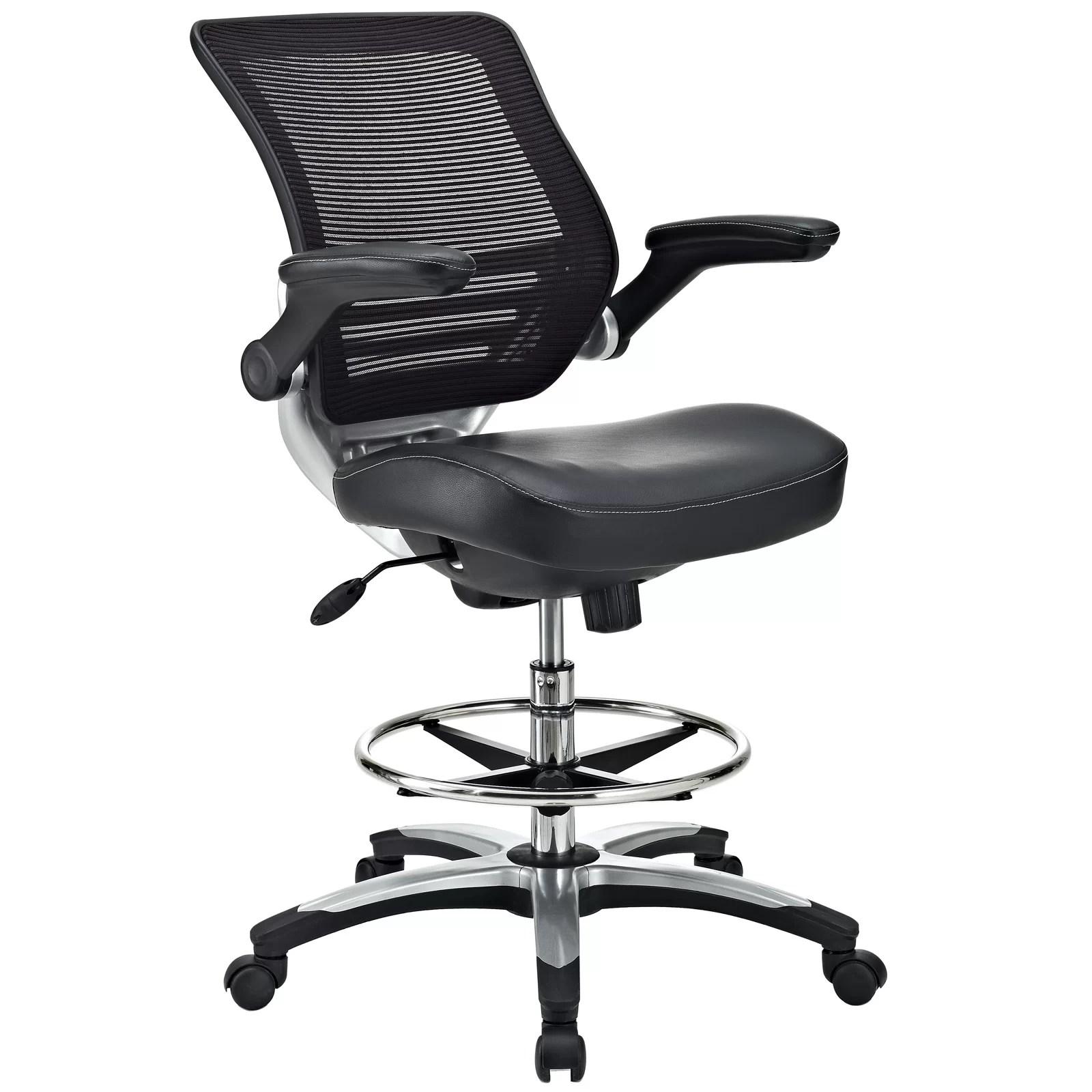 mesh drafting chair suede bean bag bonnie reviews allmodern