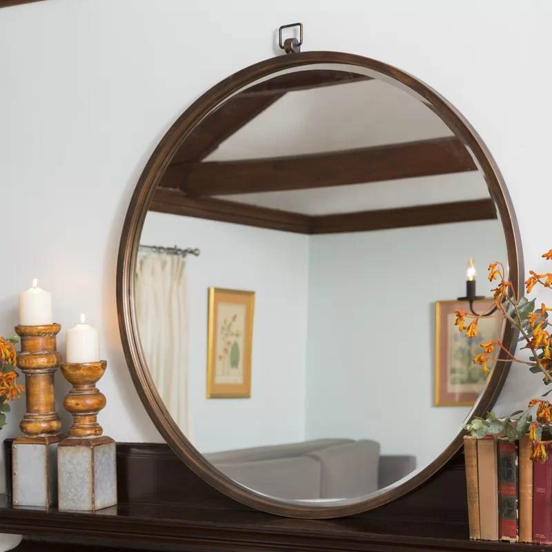 Taylor Round Oversized Wall Mirror  Reviews  Joss  Main
