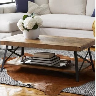 living room furniture table decorating ideas pictures contemporary coffee tables you ll love wayfair kinsella