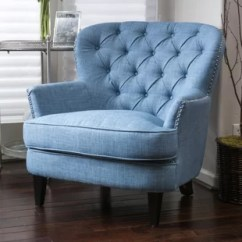 Accent Chair Blue Covers Melbourne Chairs Birch Lane Quickview Dark