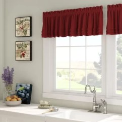 Kitchen Valance Average Cost To Reface Cabinets Valances Birch Lane Quickview