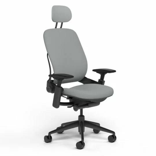 steelcase leap chair sixbros office swivel grey fabric desk wayfair