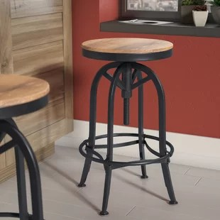 stool chair adjustable office glides for carpet bar stools you ll love wayfair southbridge height swivel
