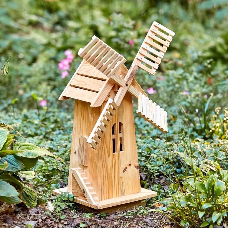 Shine Company Inc Lawn Windmill Amp Reviews Wayfair