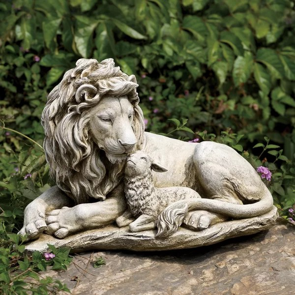 Josephs Studio Lion and Lamb Garden Statue  Reviews