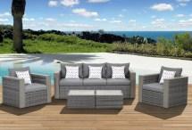 Beachcrest Home Aquia Creek 5 Piece Deep Seating Group