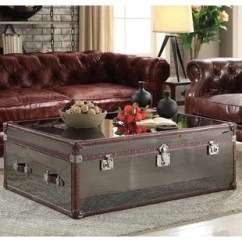 Trunk Coffee Table Living Room Furniture Consoles Chest Wayfair Kasha