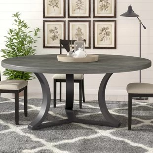 kitchen table round unfinished cart 72 inch dining wayfair quickview