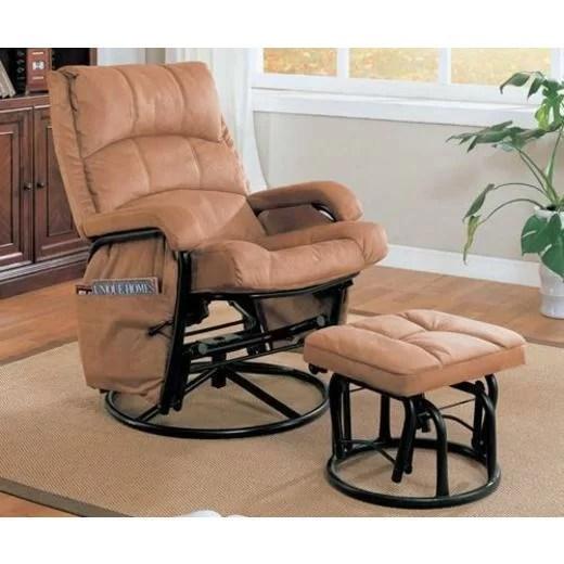 rocker glider chair leopard print accent cushions wayfair