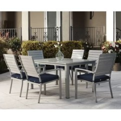 Dining Table With Metal Chairs Revolving Wing Chair Outdoor Furniture Birch Lane Quickview