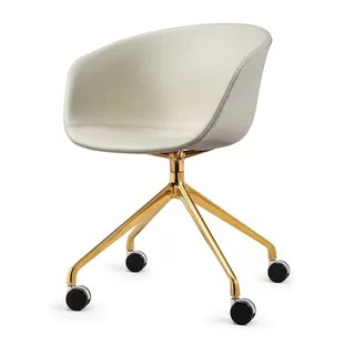 office chair gold comfortable chairs for small spaces faux fur desk base wayfair quickview