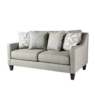 stain proof sofa fabric frame making resistant wayfair canby loveseat