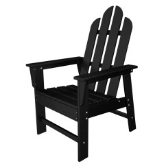 Adirondack Style Dining Chairs Rocking Outdoor Polywood Long Island Chair Reviews Wayfair