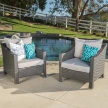Home Loft Concepts Dragoon Wicker Club Chair With Cushion